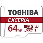 image of Toshiba 64GB Micro SD Card