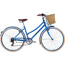 "image of Raleigh Sherwood Womens Classic Bike - Blue - 17"", 19"", 21"" Frames"