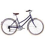"image of Raleigh Caprice Womens Classic Bike - Purple - 17"", 19"", 21"" Frames"