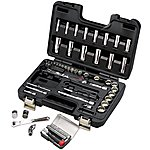 "image of Halfords Advanced Professional 64 Piece Socket Set 1/4"" 3/8"""