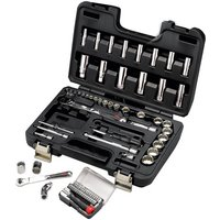 "Halfords Advanced 64 Piece Socket Set 1/4"" 3/8"""