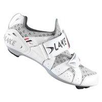 Lake TX212 Triathlon Cycling Shoes - White