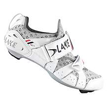 image of Lake Womens TX212 Triathlon Cycling Shoes - White