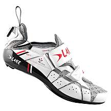 image of Lake TX312C Triathlon Speedplay Cycling Shoes - White