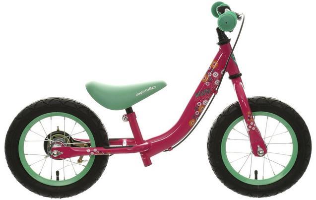 Apollo Wizzer Balance Bike Pink 1
