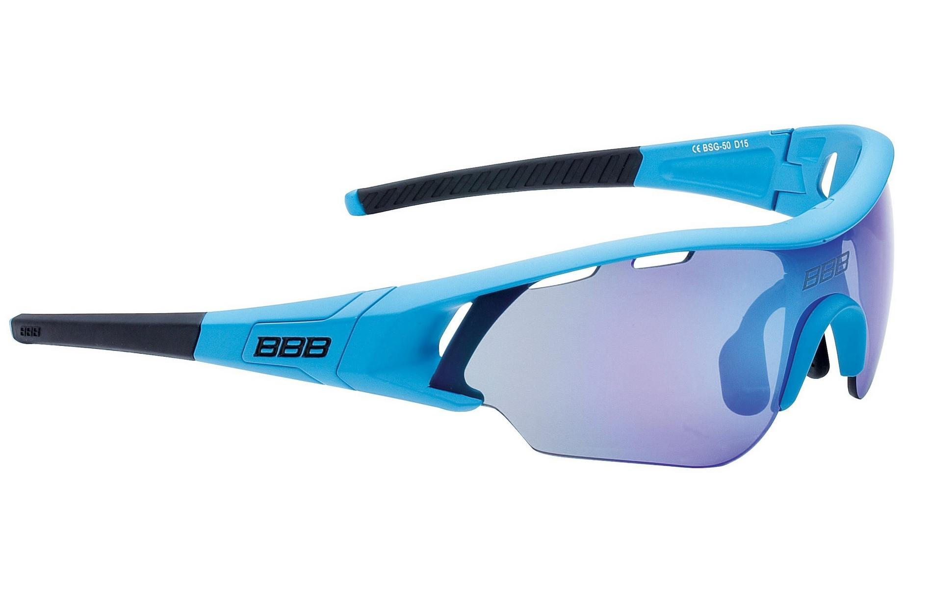 BBB Summit Sunglasses Matt Blue/Blue