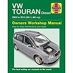 image of Haynes VW Touran Diesel (03 - 15) Manual
