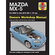 image of Haynes Mazda MX5 (05-15) Manual