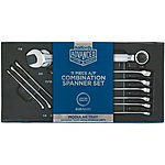 image of Halfords Advanced Modular Tray Set - 11 Piece Combination Spanner Set