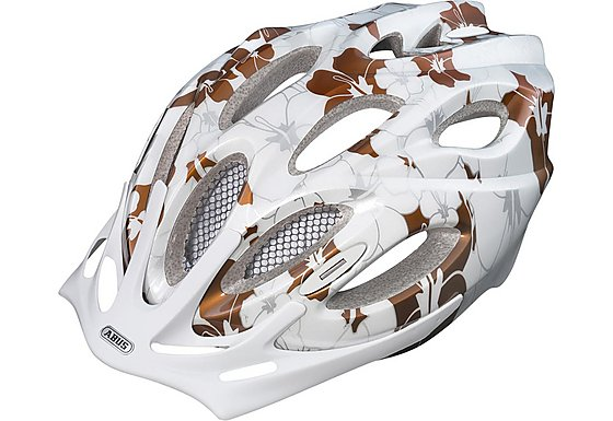 Abus Arica Womens Bike Helmet - Coffee Gold