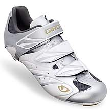 image of Giro Sante Womens Cycling Shoes - White and Silver