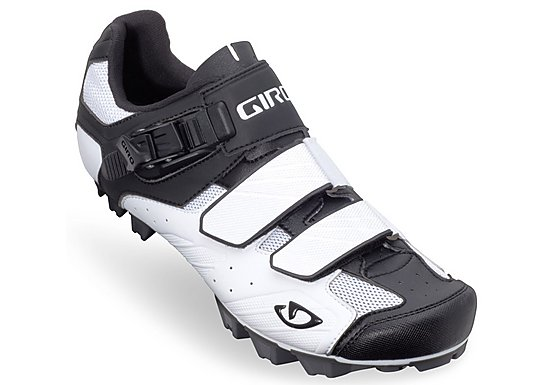 Giro Privateer Cycling Shoes - White and Black