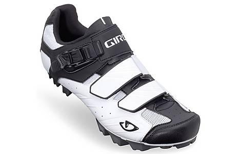 image of Giro Privateer Cycling Shoes - White and Black