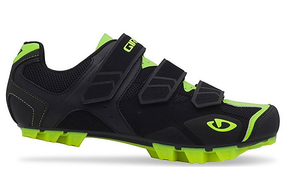 Giro Carbide Cycling Shoes - Black and Yellow