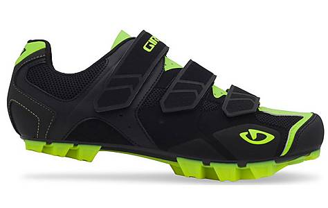 image of Giro Carbide Cycling Shoes - Black and Yellow