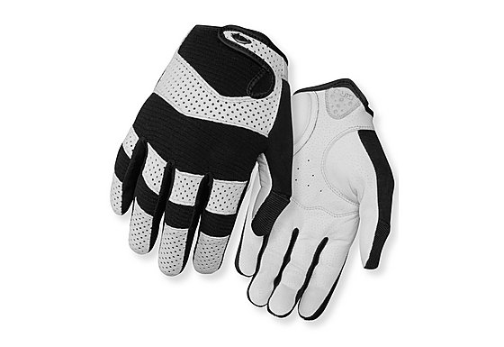 Giro LX Long Fingered Gloves - White