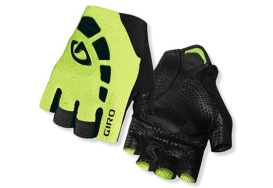 Giro Zero Gloves - Black/Highlight Yellow