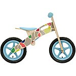 image of Apollo Wooden Giraffe Balance Bike - 12""