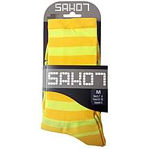 image of Sako7 Chartreuse Socks
