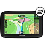 image of TomTom Via 53 Car Sat Nav with Bluetooth, Wi-Fi, Europe Maps, Siri and Google Now integration