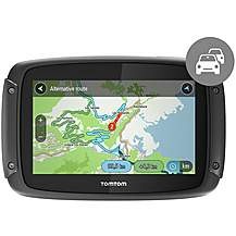 image of TomTom Rider 420 Motorcycle Sat Nav with Europe Maps