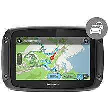 "image of TomTom Rider 42 4.3"" UK, ROI and Western Europe Maps Car Sat Nav"