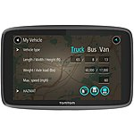 image of TomTom GO Professional 6200 HGV Sat Nav with Wi-Fi, SIM Card, Europe maps, Siri and Google Now integration