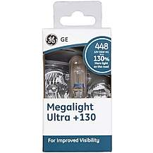image of GE 448 H1 Megalight Ultra +130 Brighter Car Bulb x 1