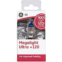 image of GE 9005 HB3 Megalight Ultra +120 Premium Car Bulb x 1