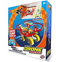 image of Hot Wheels RC Vehicle & Drone Set