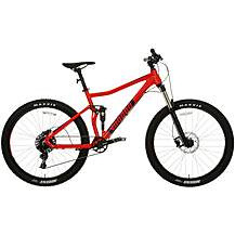 "image of Voodoo Zobop Full Suspension Mens Mountain Bike - 16"", 18"", 20"" Frames"
