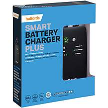 Halfords Smart Charger Plus - 12V Vehicles Up