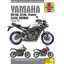 image of Haynes Yamaha MT-09 (13-16) Manual