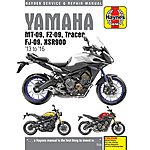 image of Haynes Yamaha MT-09 (13-16) Manual