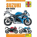 image of Haynes Suzuki GSX-R1000 (09-16) Manual