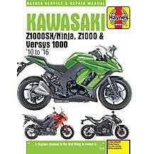 image of Haynes Kawasaki Z1000SX (10-16) Manual