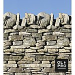 image of Stone Wall 5 Pole Windbreak