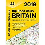 Big Road Atlas Britain 2018 sp