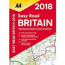 image of Easy Read Atlas Britain 2018 fb