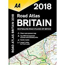 image of Road Atlas Britain 2018 sp