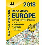 Road Atlas Europe 2018 sp