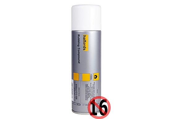 Halfords Rubbing Compound 300ml