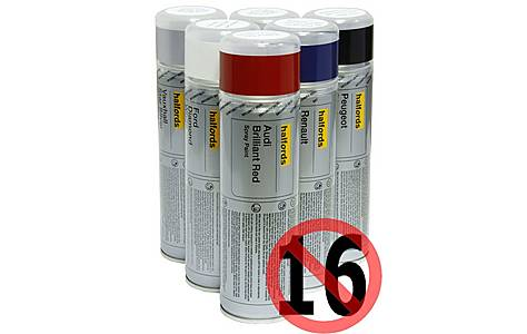image of Halfords Ford 'Signal Yellow' Car Spray Paint 300ml