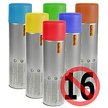 image of Halfords Fiat Golden Yellow Car Spray Paint 300ml