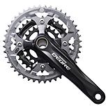 Shimano Deore FC-M590 2 Piece Design 9-Speed Chainset - Black
