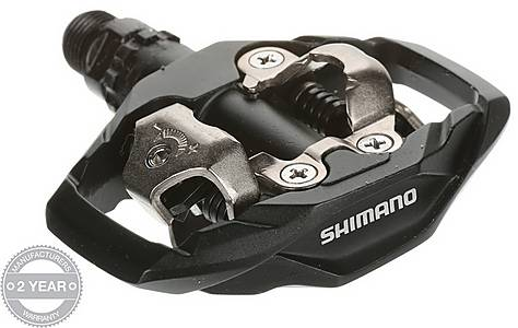 image of Shimano M530 MTB SPD Two Sided Mechanism Trail Pedals