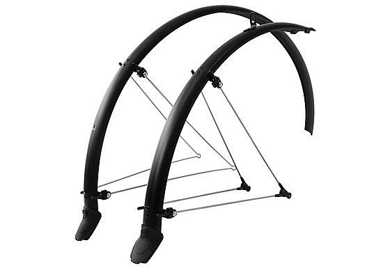 SKS Bluemels Olympic Racer Mudguard Set - Matt Black - 700c x 45mm