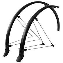 image of SKS Bluemels Olympic Racer Mudguard Set - Matt Black - 700c x 45mm