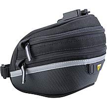 image of Topeak Wedge with Quickclip Saddle Bag- Large