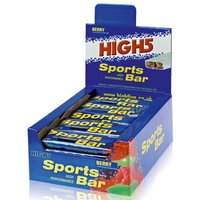 High5 Sports Bar Box - 25 Bars - Berry